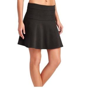 Athleta Black Ponte Skirt Size 16 NWT